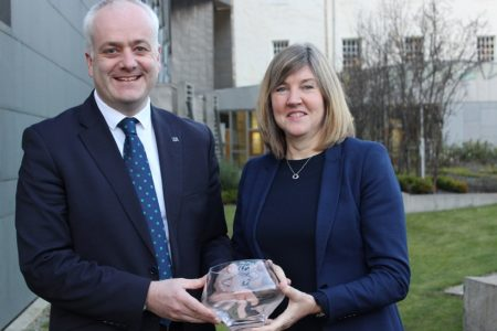 Two Green MSPs receive Lord Houghton Award for Animal Welfare