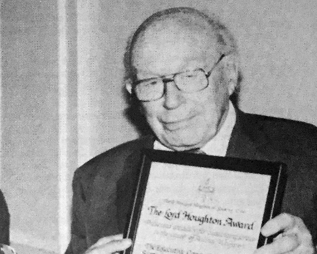 1979 – Lord Houghton Award for Services to Animal Welfare announced