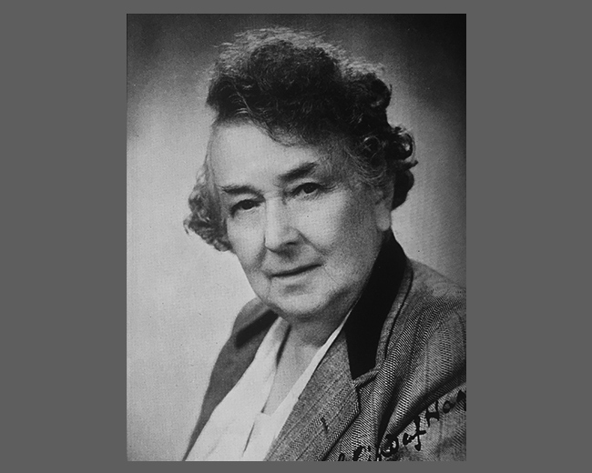 1951 – Miss Lind-af-Hageby becomes third President of the SSPV