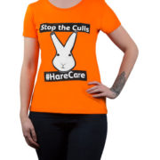OneKind womens hare care tshirt